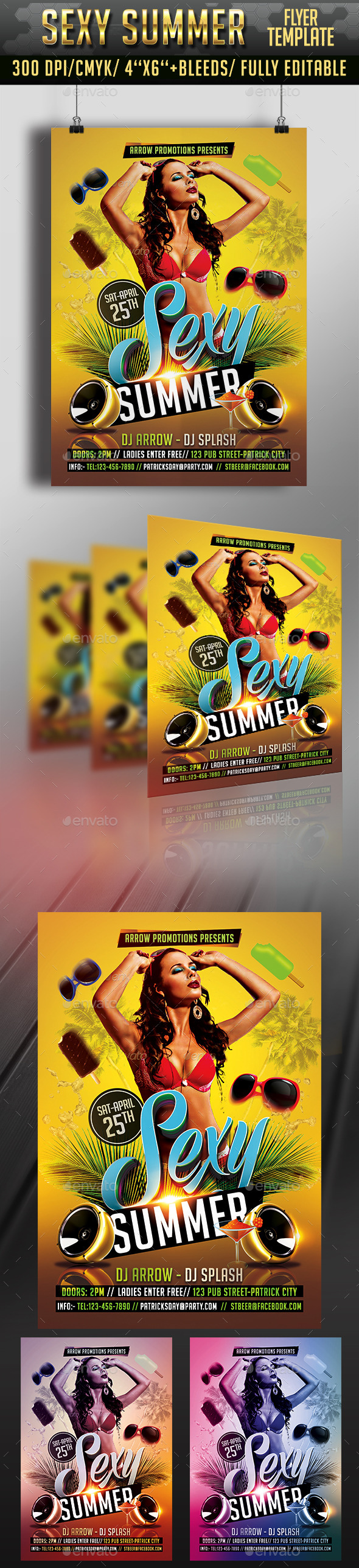 Sexy Summer Party - Clubs & Parties Events