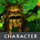 Walking Tree - Character Sprite - GraphicRiver Item for Sale