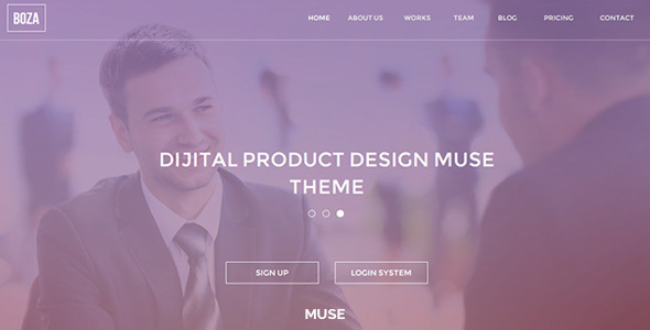 Boza Creative Muse Template