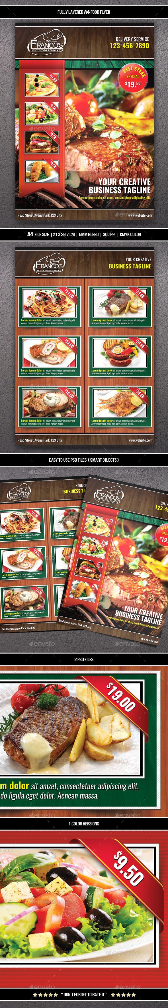 Food Flyer 7 (A4)