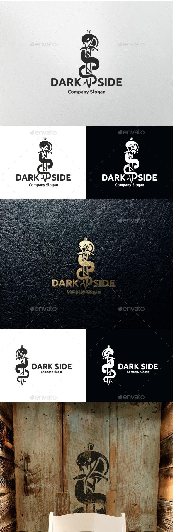 Dark Side - Animals Logo Templates
