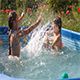 Kids Have Fun Swimming in a Pool  - VideoHive Item for Sale