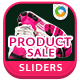 Product Sale Sliders - 6 Designs - GraphicRiver Item for Sale
