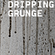 Grunge Wall with Textured Drips Running Down - GraphicRiver Item for Sale