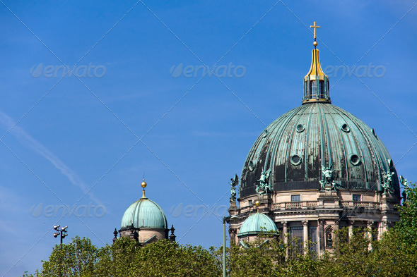 Different view on Berlin´s Dom - Stock Photo - Images