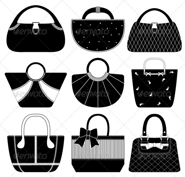 Female Bag Handbag Purse Woman - Man-made Objects Objects