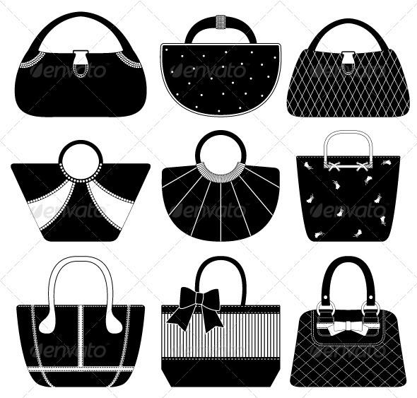 Female Bag Handbag Purse Woman - Man-made Objects Objects