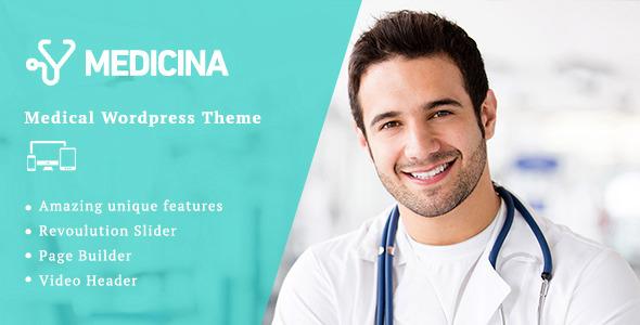 Medicina | Medical WordPress Theme - Retail WordPress