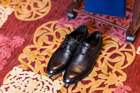 Men's  shoes - Stock Photo - Images