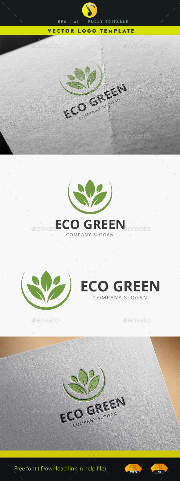 Eco Green - Nature Logo Templates