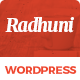 Italian Radhuni - Food & Resturant WordPress Theme Nulled