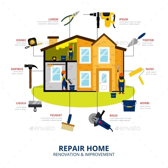 Home Renovation Concept - Services Commercial / Shopping