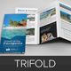 Travel Trifold Brochure InDesign Template v2 - GraphicRiver Item for Sale