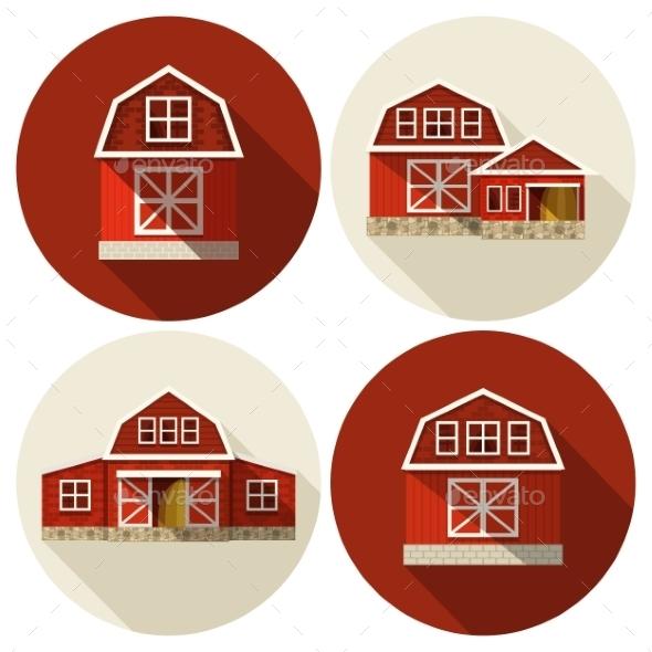 Farm Building Flat - Buildings Objects