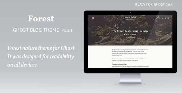 Forest – woody theme
