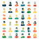 Avatars Flat Design - GraphicRiver Item for Sale