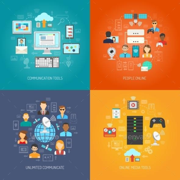 It Design Concept - Computers Technology