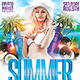 Summer Dance Party Flyer - GraphicRiver Item for Sale