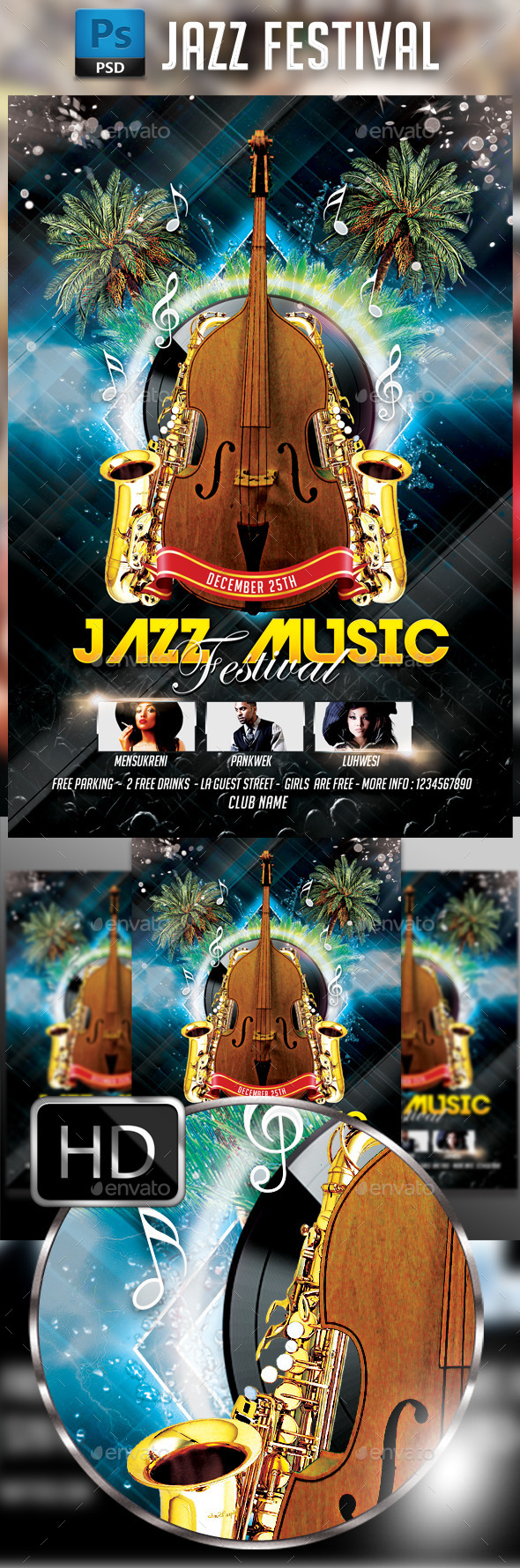 Jazz Music Festival - Concerts Events