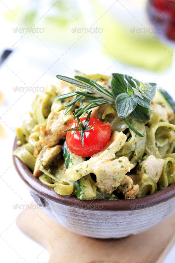 Pasta dish - Stock Photo - Images