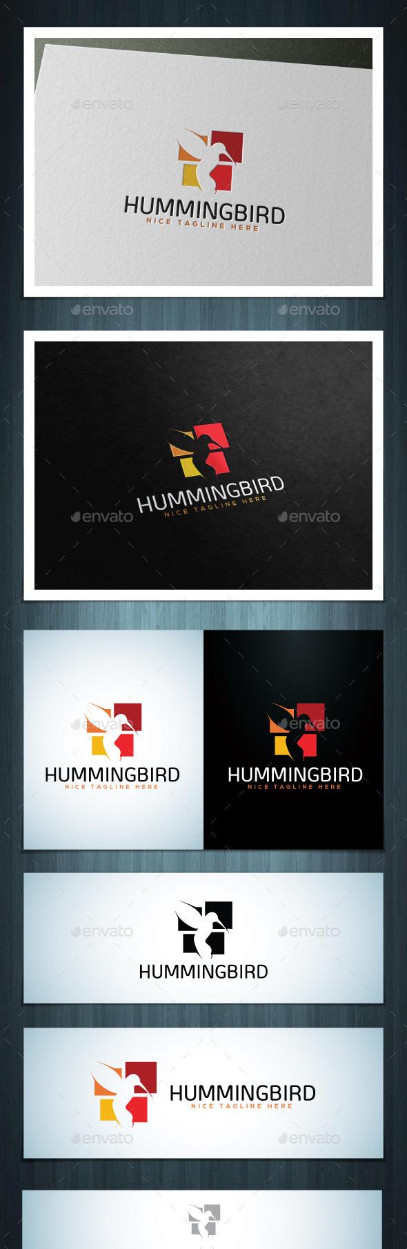 Hummingbird - Vector Abstract