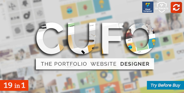 Cufo – Responsive Customizable Portfolio Theme