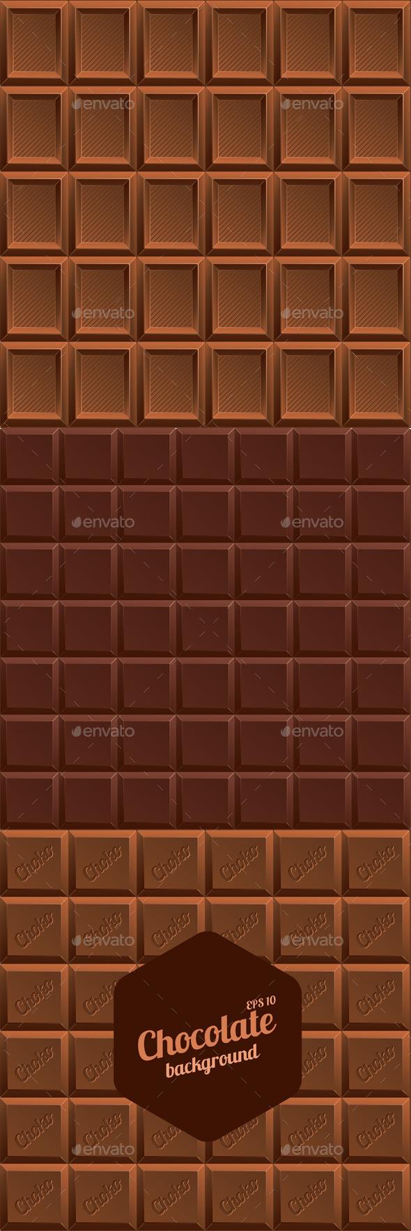 Chocolate Background - Backgrounds Decorative