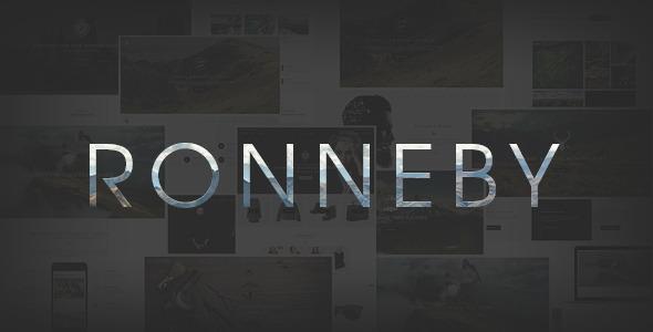 Ronneby - High-Performance WordPress Theme