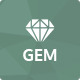 Gem — Luxury E-Commerce PSD theme