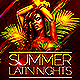 Summer Latin Nights - GraphicRiver Item for Sale