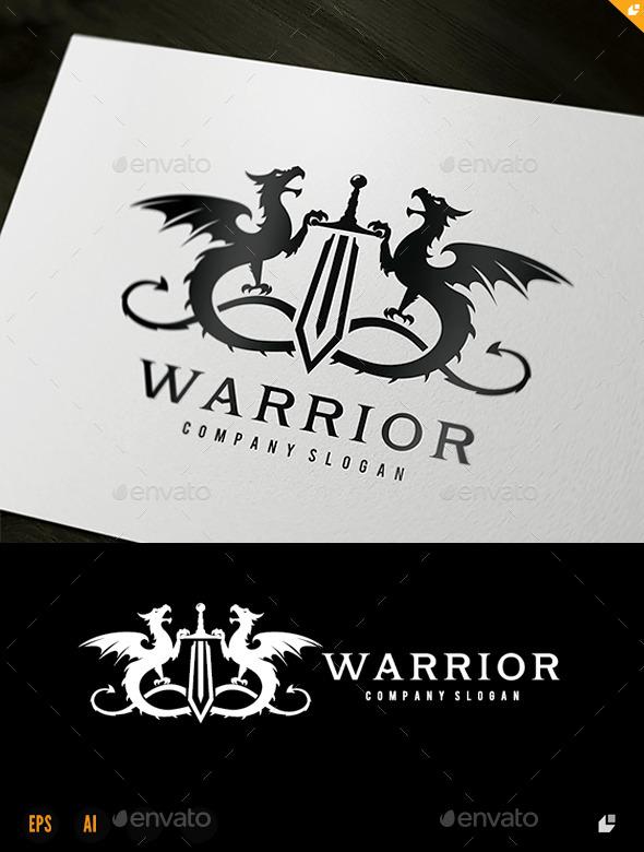 Warrior - Crests Logo Templates