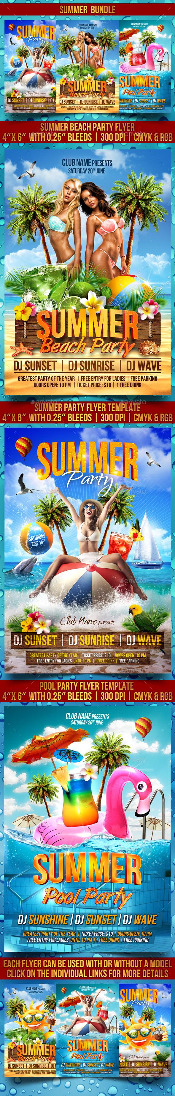 Summer Flyer Bundle V2