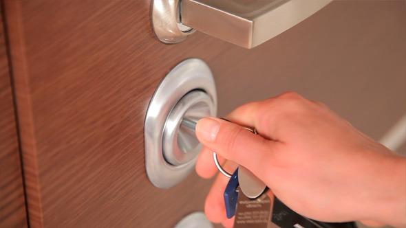 Opening and Closing of the Door Lock