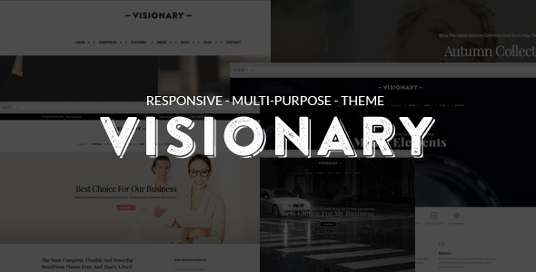 Visionary – Multi-Purpose Drag And Drop Theme