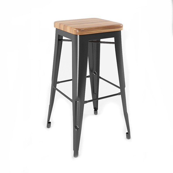 Eiffel Barstool - 3DOcean Item for Sale