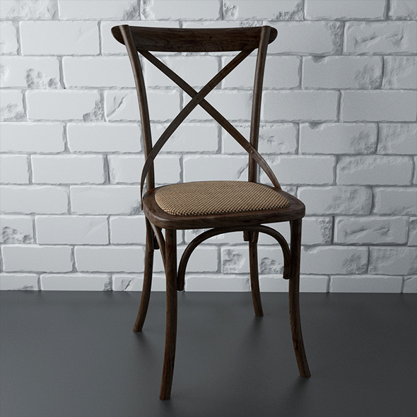 Render Setups Chair Wall - 3DOcean Item for Sale