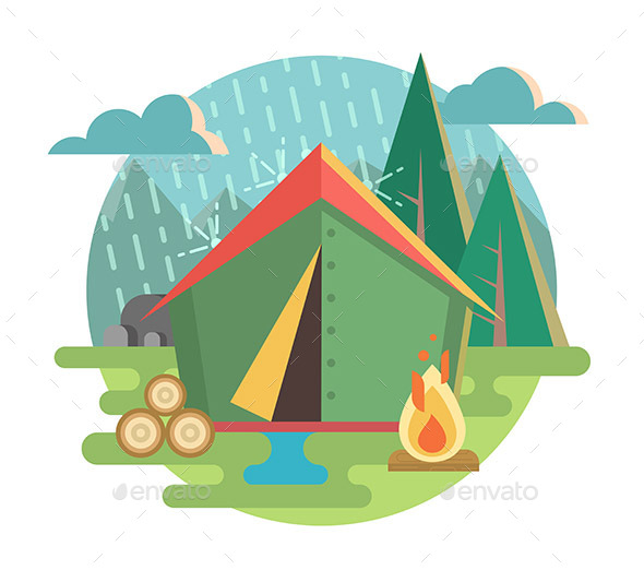Outdoor Recreation Camping - Landscapes Nature
