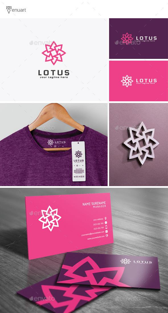 Lotus Logo - Nature Logo Templates