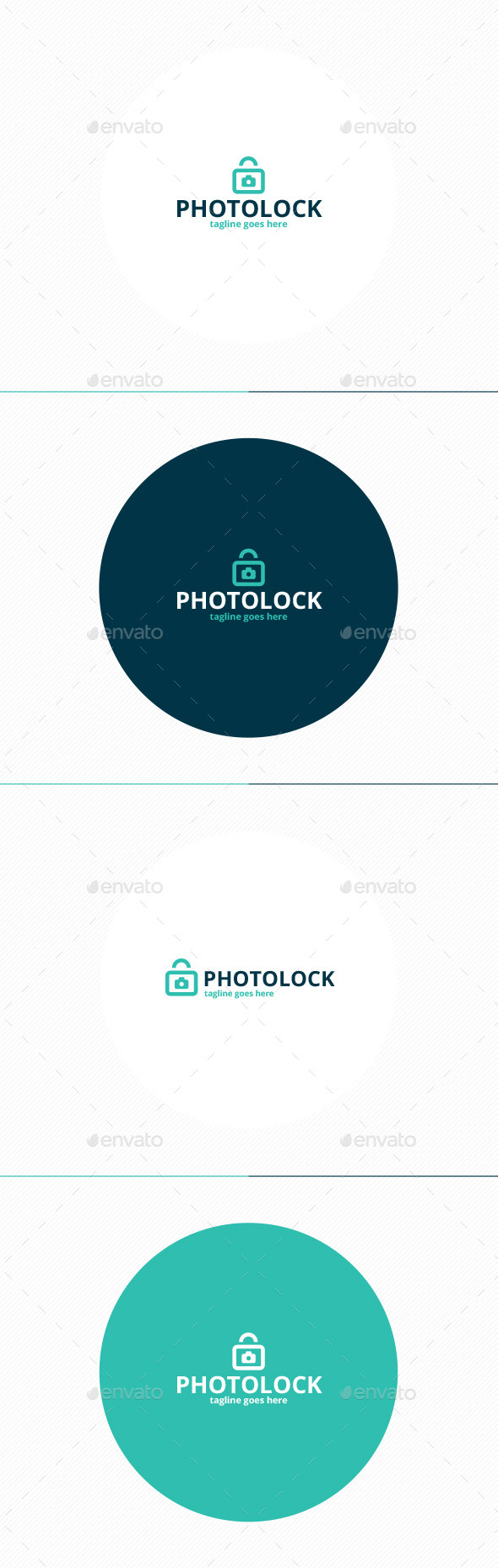 Photo Lock Logo - Symbols Logo Templates