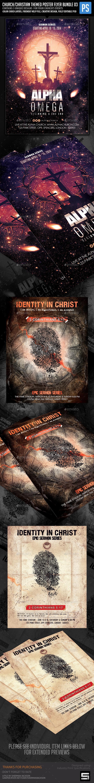 Church/Christian Themed Poster/Flyer Bundle-3 - Church Flyers