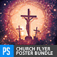 Church/Christian Themed Poster/Flyer Bundle-3 - GraphicRiver Item for Sale