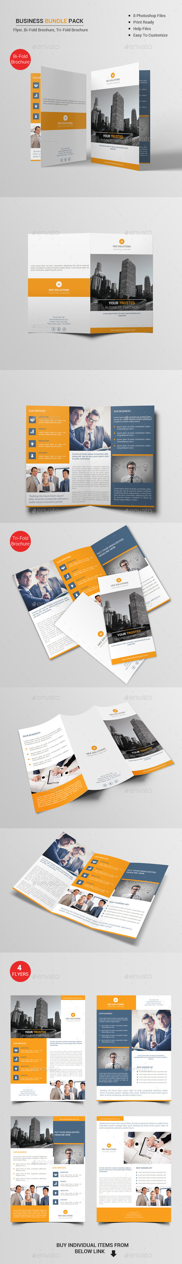 Business Bundle Pack V1 - Corporate Brochures