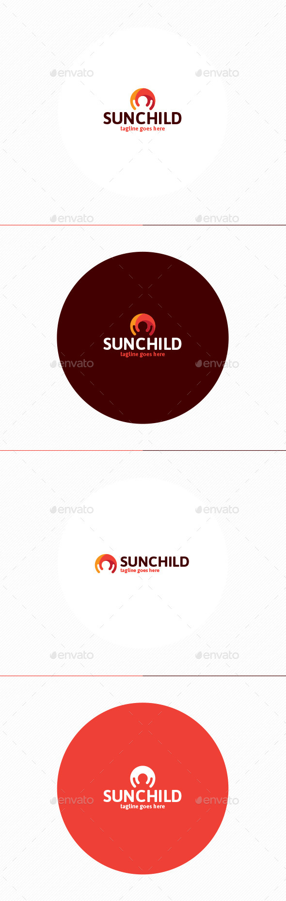 Sun Child Logo - Humans Logo Templates