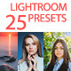 25 Lightroom Presets - GraphicRiver Item for Sale