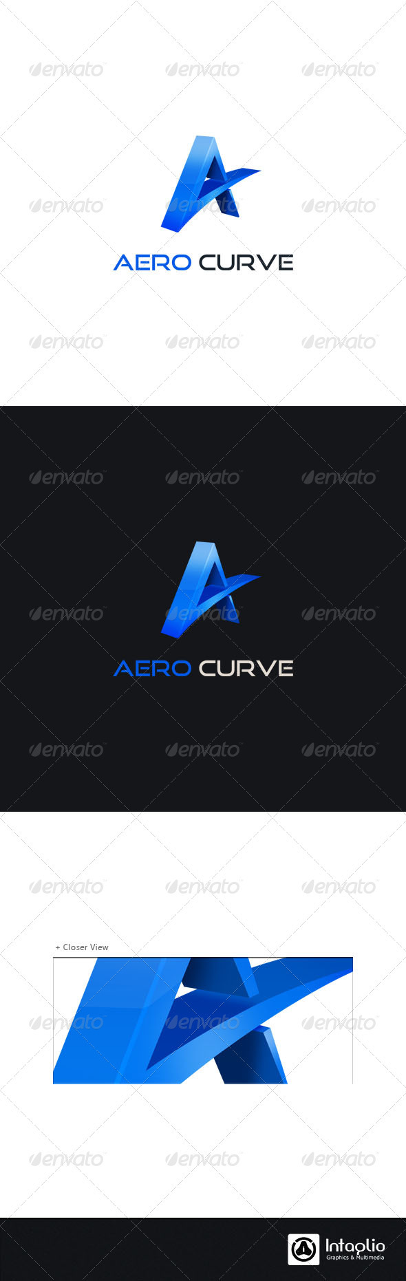 "Letter ""A"" Logo Template - Letters Logo Templates"