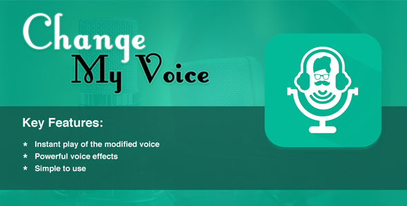 Change My Voice - CodeCanyon Item for Sale