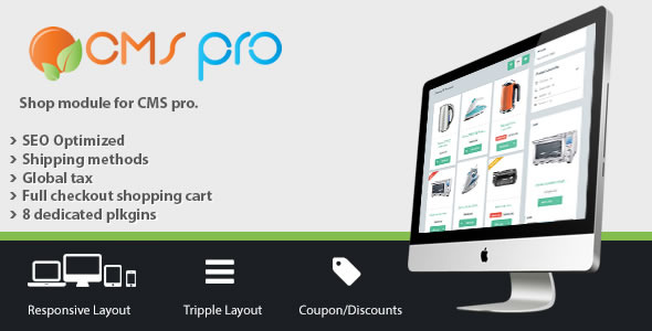Shop Module for CMS pro - CodeCanyon Item for Sale