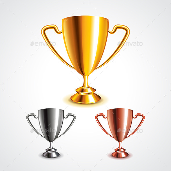 Trophy Cups - Miscellaneous Vectors