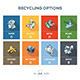Recycling Categories Options Waste Sign Kit - GraphicRiver Item for Sale