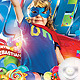 Flyer Super Kids Party - Birthday - GraphicRiver Item for Sale